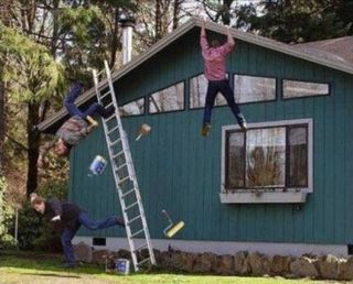 Roof-Fail-Fork-Party